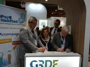 RePerE Habitat et GRDF s'associent en faveur de la rénovation énergétique de l'habitat dans le sud des Yvelines.