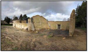 Visite d'un chantier Auto-rénovation (en partie) d'un vieux bâtiment pour création de gîte – samedi 6 juillet – Poigny-la-Forêt