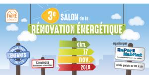 3è Salon de la Rénovation énergétique – Dimanche 17 novembre – Chevreuse