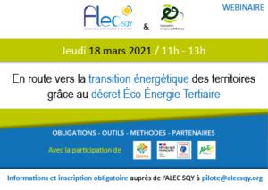 Vous avez manqué le webinaire sur le décret Éco Énergie Tertiaire ?
