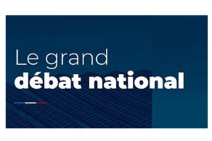 Le grand débat national : vos idées jusqu'au 15 mars