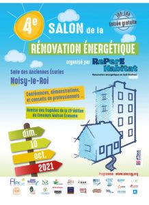 Read more about the article 4è Salon de la Rénovation énergétique sud Yvelines :  dimanche 10 octobre à partir de 10h à Noisy-le-Roi